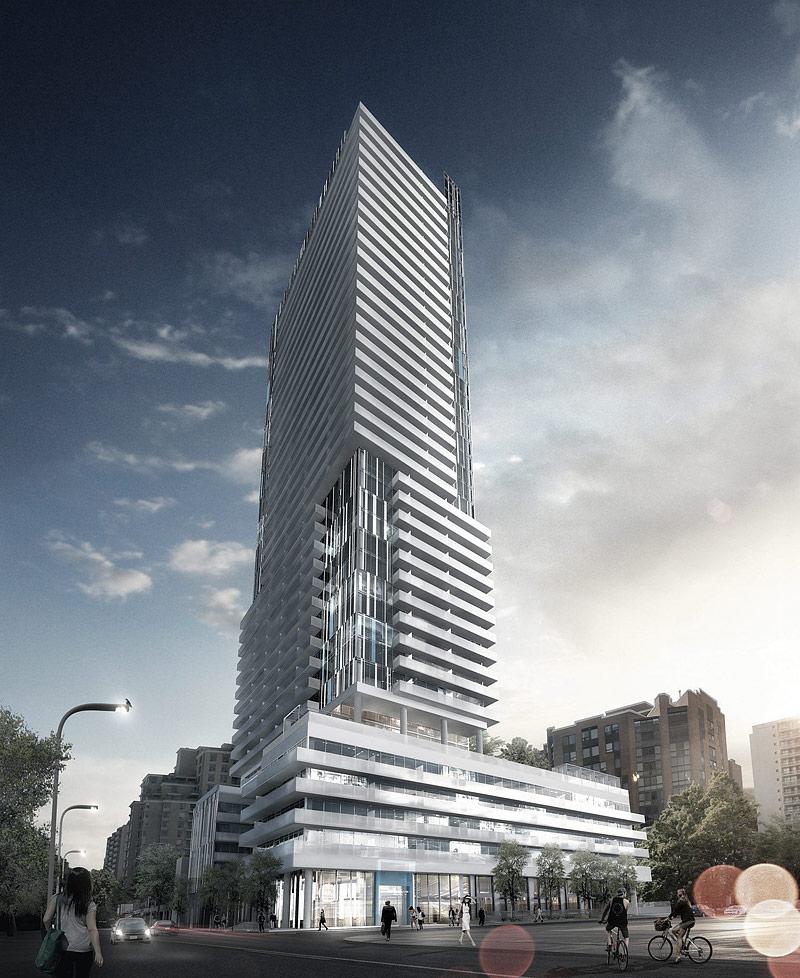 Main Building of 150 Redpath Condominiums